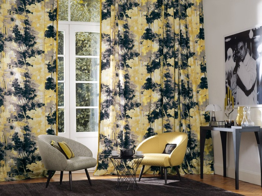 Printed fabric for curtains JUNGLE | Fabric for curtains - Zimmer + Rohde