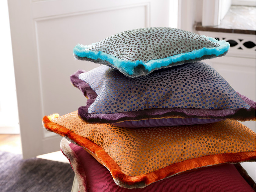 Dotted fabric PEACOCK | Upholstery fabric - Zimmer + Rohde