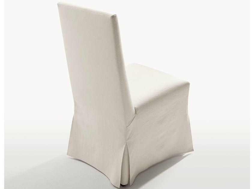 Upholstered fabric chair PEPLO | Chair - Maxalto, a brand of B&B Italia Spa