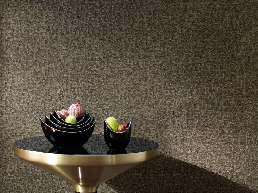 Solid-color nonwoven wallpaper MEDITATION - Zimmer + Rohde