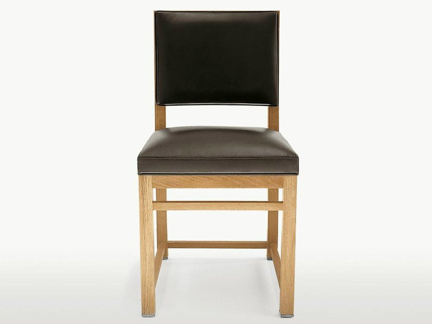 Upholstered solid wood chair TETI | Chair - Maxalto, a brand of B&B Italia Spa