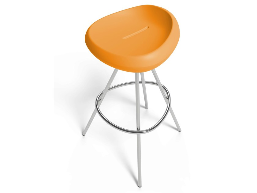 High polyethylene barstool BEASER by Lonc