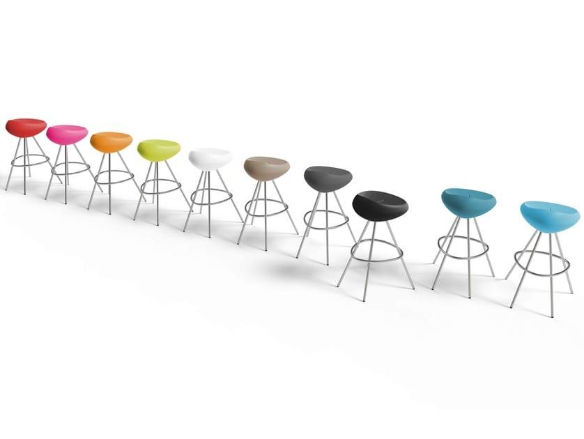 High Polyethylene Barstool Beaser By Lonc Design Rogier