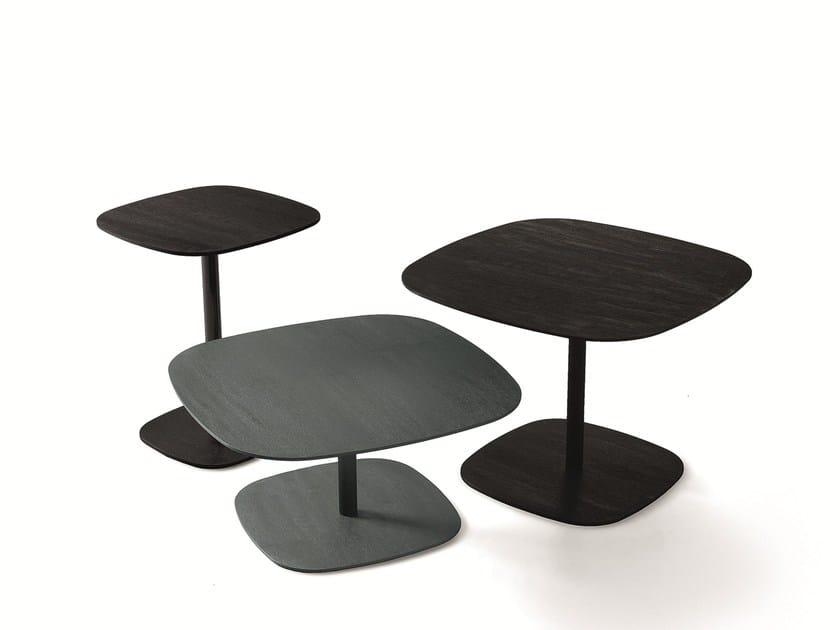 Aluminium coffee table CHANEL by Gallotti&Radice