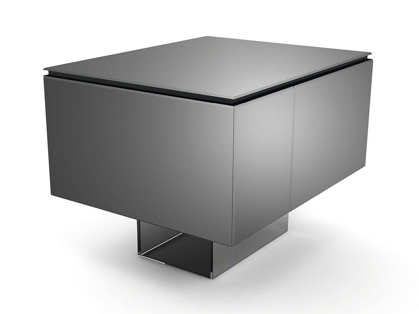 Mirrored glass bar cabinet BACCO - Gallotti&Radice