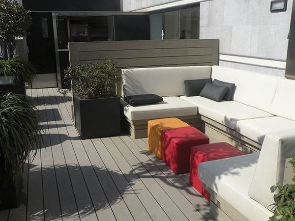 Engineered wood decking SMOOTH ELEGANCE DECK BOARD - Silvadec