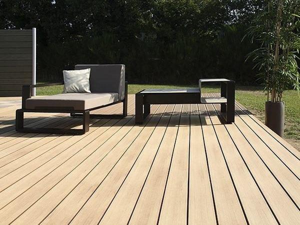 Engineered wood decking SMOOTH EMOTION DECK BOARD - Silvadec