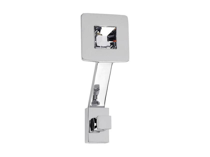 Wall-mounted chromed brass coat rack REFLEX | Wall-mounted coat rack by LINEA CALI'