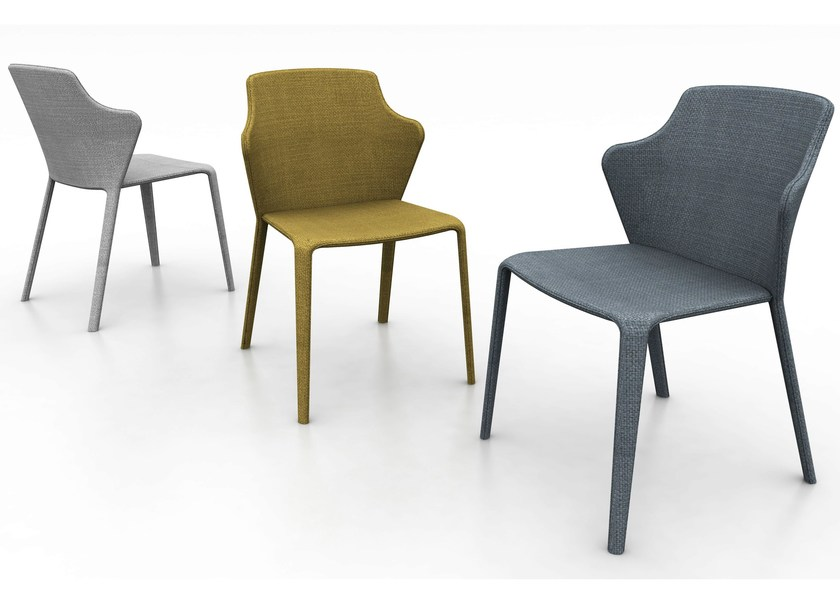 Fabric chair OPERA | Chair by DOMITALIA