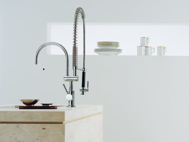 Kitchen tap with spray TARA CLASSIC - Dornbracht
