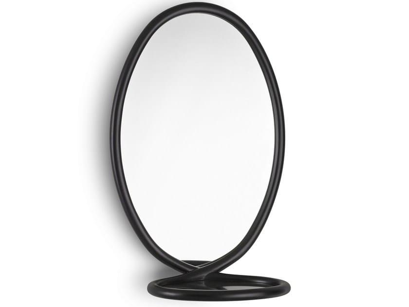 Oval framed mirror LOOP by Porro