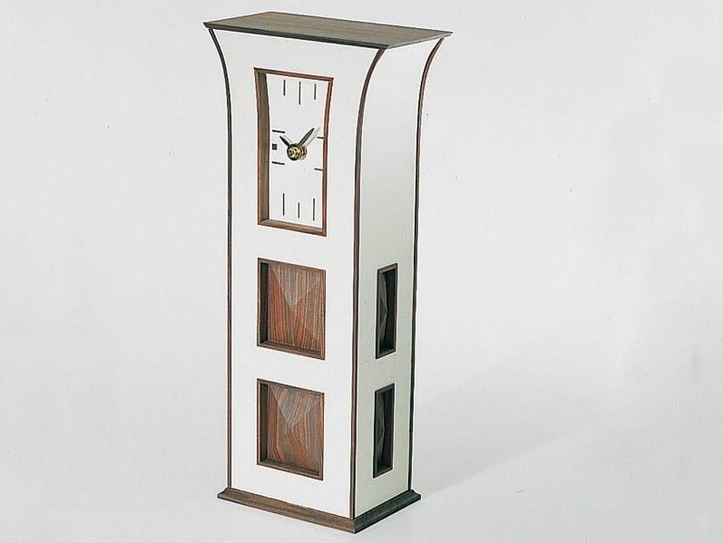 Orologio da tavolo in legno collezione ulrich le for Orologio da tavolo legno