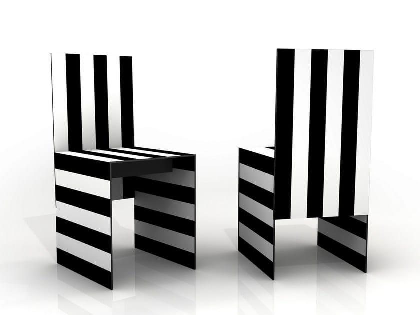 Aluminium chair SIMBOLO | Chair by altreforme