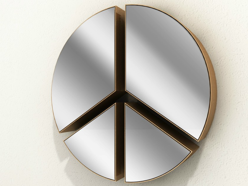 Wall-mounted mirror PACE | Mirror by altreforme