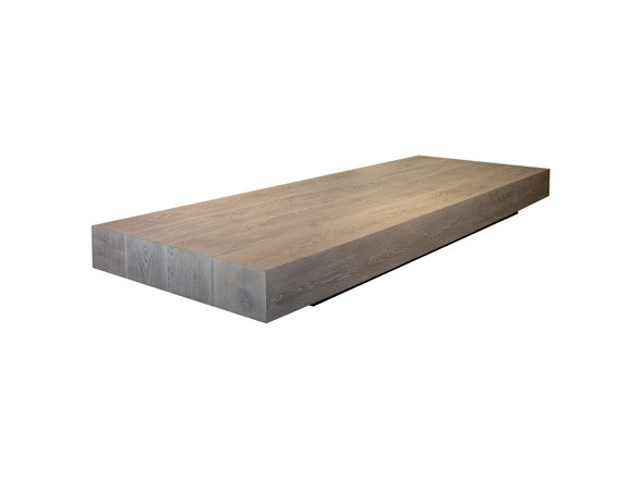 Rectangular oak coffee table for living room BALKAN | Coffee table - Ph Collection