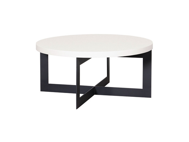 Round coffee table for living room CROSS | Coffee table - Ph Collection
