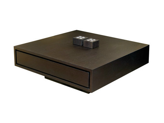 Square oak coffee table BANCO | Coffee table - Ph Collection
