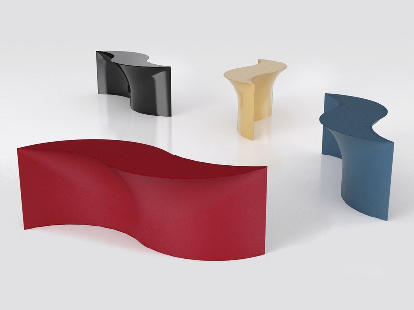 Aluminium console table MARIÙ - altreforme