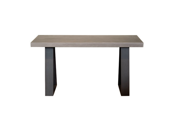 Rectangular oak console table TRETEAUX | Console table - Ph Collection