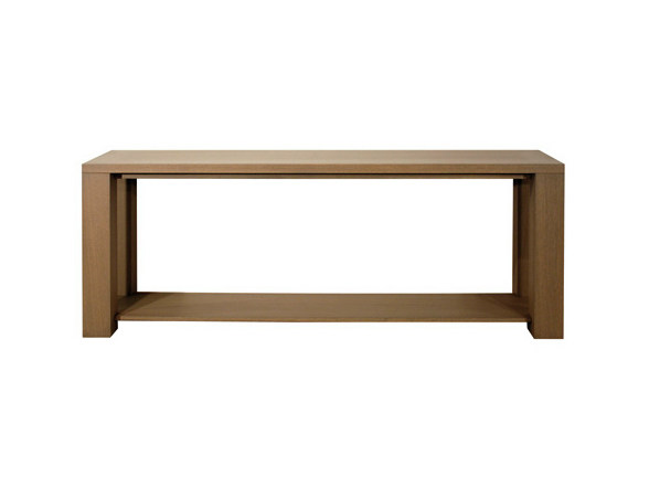 Rectangular oak console table ELEPHANT | Console table - Ph Collection