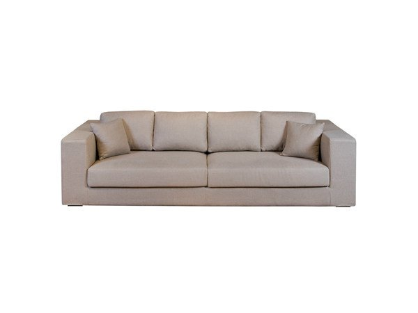 4 seater sofa with removable cover DAVID | Sofa - Ph Collection