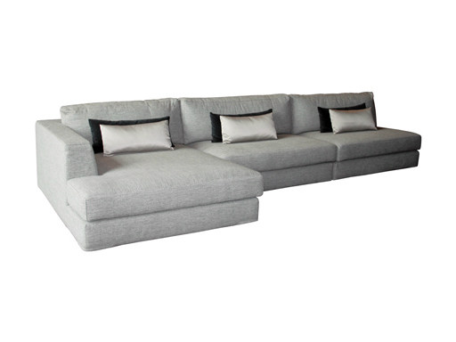 Corner 3 seater fabric sofa GOLIATH | Sofa by Ph Collection