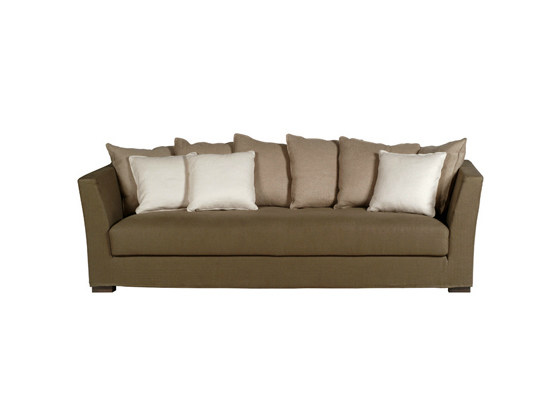 2 seater sofa with removable cover MONTECATINI | Sofa - Ph Collection