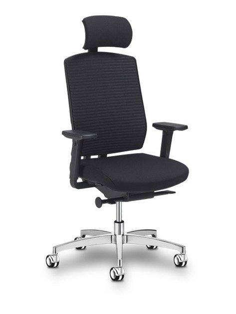 Height-adjustable executive chair with headrest 4 YOU | Executive chair - SitLand
