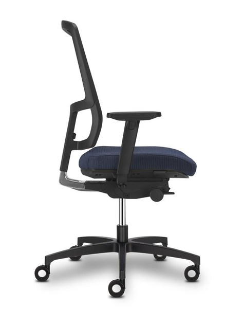 Height-adjustable ergonomic task chair with 5-Spoke base 4 YOU | Task chair - SitLand