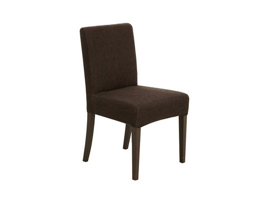 Upholstered chair CARRE BASSE | Chair by Ph Collection