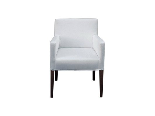 Upholstered chair with armrests LONDON | Chair - Ph Collection