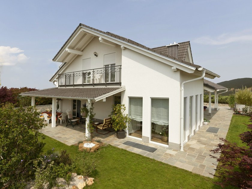 Casa prefabbricata in legno la spezia spazio positivo - Casa legno moderna ...