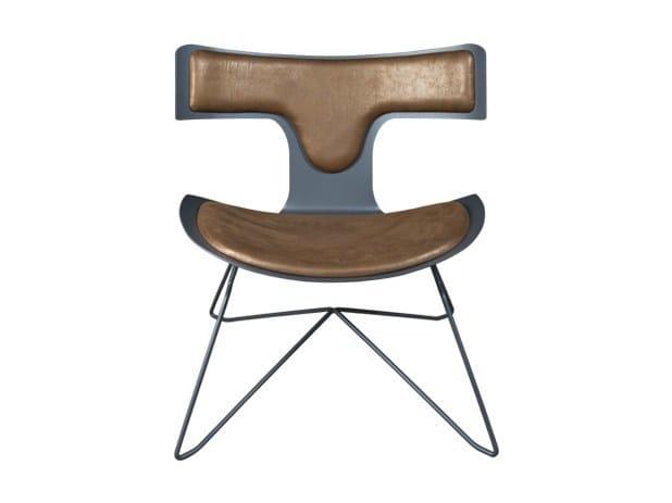 Iron chair TEODORO by Hamilton Conte Paris