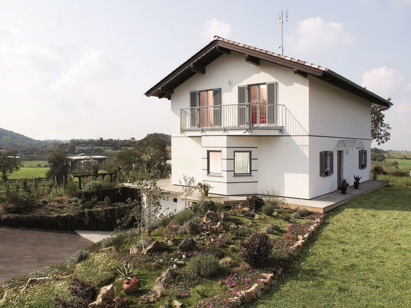 Wooden house CASA MIA 141 - Spazio Positivo by Rensch-Haus