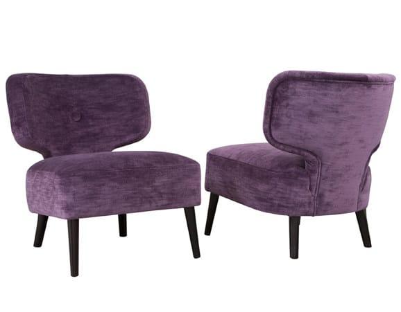 Fabric easy chair THAÏS | Fabric easy chair by Hamilton Conte Paris