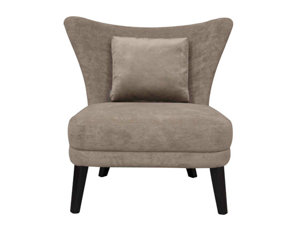 Fabric easy chair CASIMIR - Hamilton Conte Paris