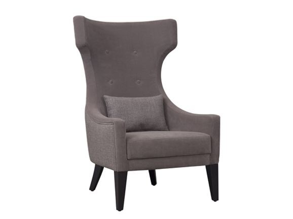 Fabric wingchair URSULA by Hamilton Conte Paris
