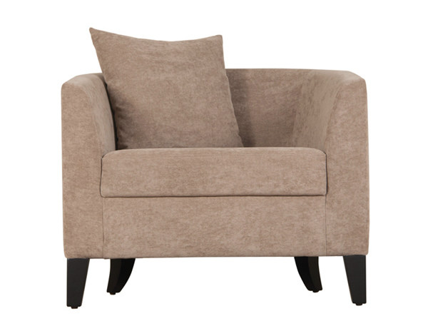 Fabric easy chair with armrests UMBERTO by Hamilton Conte Paris