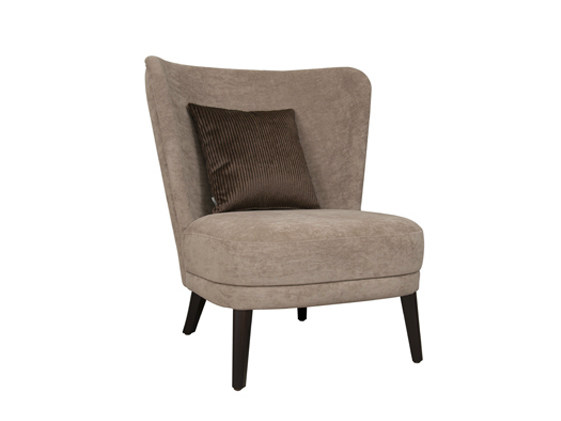 Fabric easy chair GABRIEL 1P - Hamilton Conte Paris