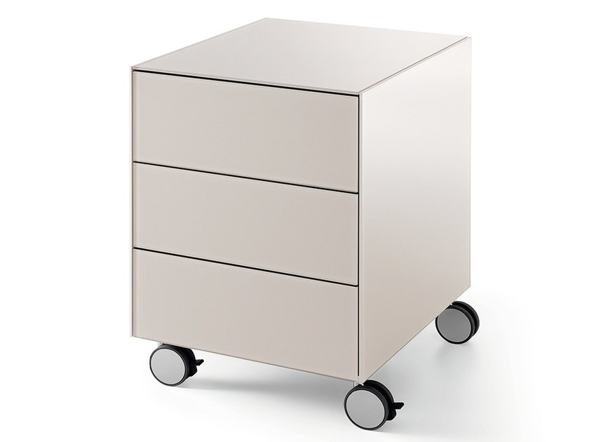 Office drawer unit with casters AIR DRAWER 3 - Gallotti&Radice