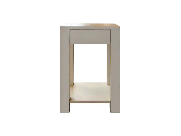 Square oak bedside table GRIFFES | Bedside table by Ph Collection