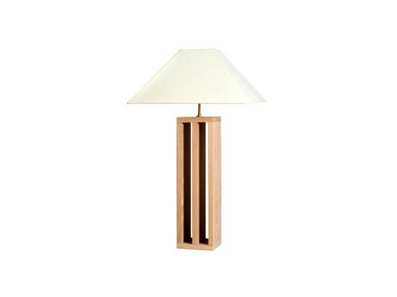 Oak table lamp COLONNE | Table lamp - Ph Collection