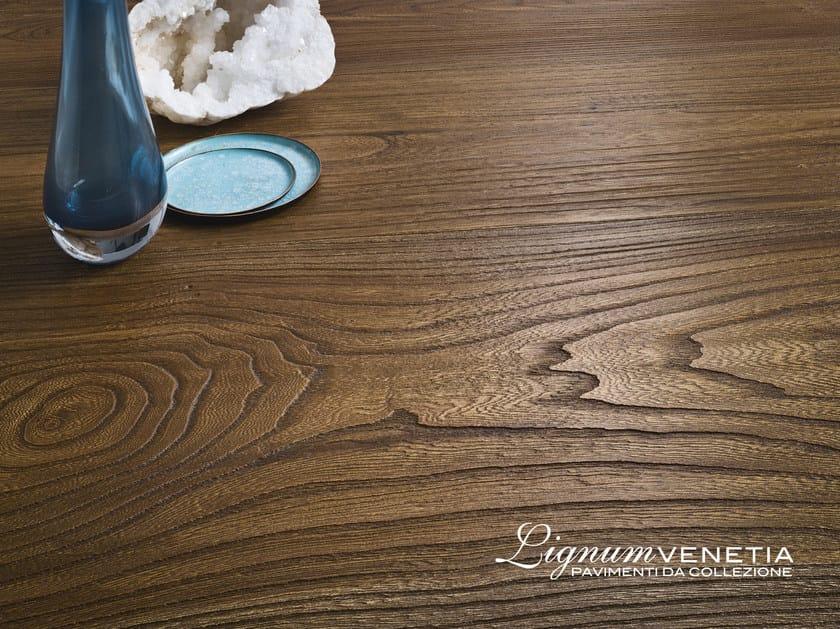 Brushed elm parquet REDENTORE - Lignum Venetia