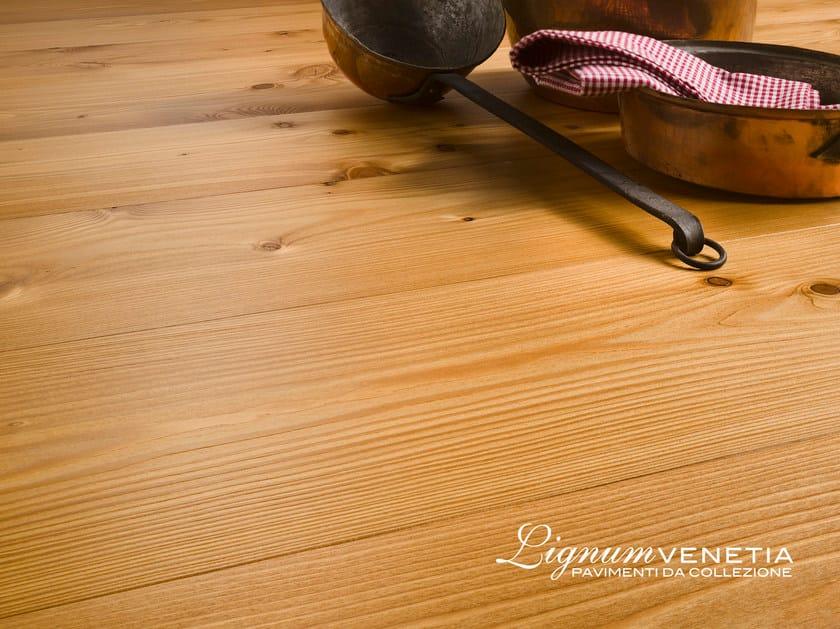 Brushed larch parquet GONDOLA - Lignum Venetia