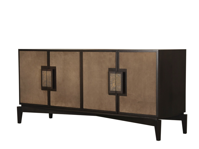 Wooden sideboard with doors FULLERTON SIDEBOARD by Hamilton Conte Paris