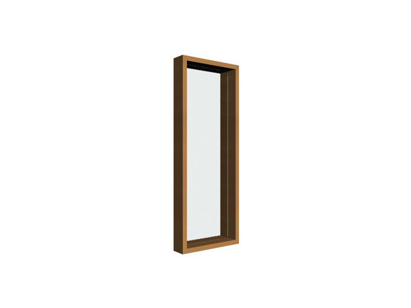Rectangular wall-mounted framed mirror FIGARO | Mirror - Ph Collection
