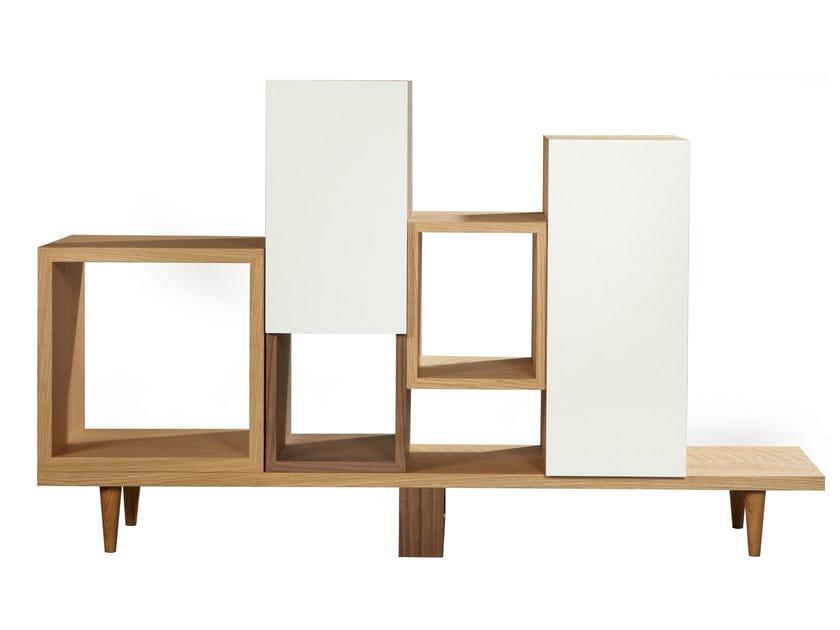 Open bookcase WILD | Open bookcase - AZEA