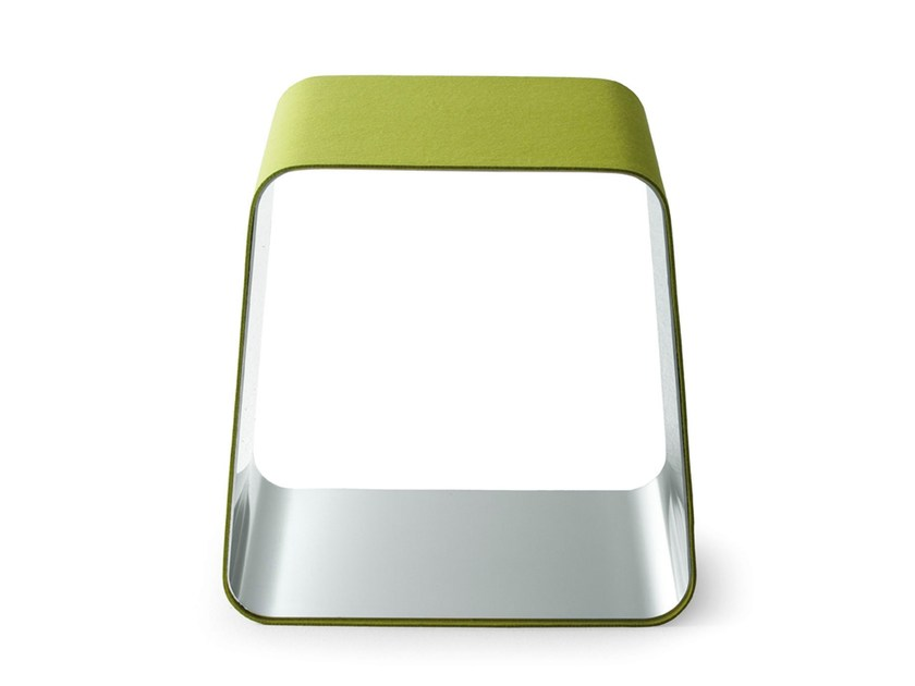 Stainless steel stool WGS | Stool by Gallotti&Radice
