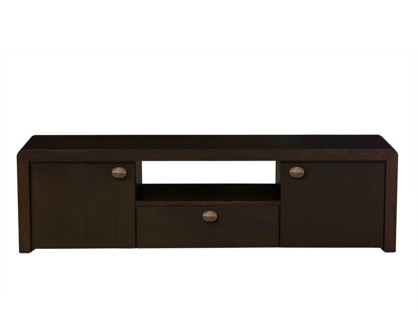 Wood veneer sideboard ORICK DOOR+DRAWER - Hamilton Conte Paris
