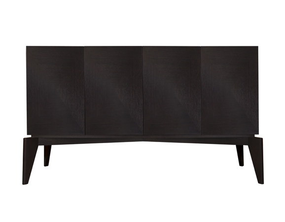 Wood veneer sideboard with doors ARHUS SIDEBOARD by Hamilton Conte Paris